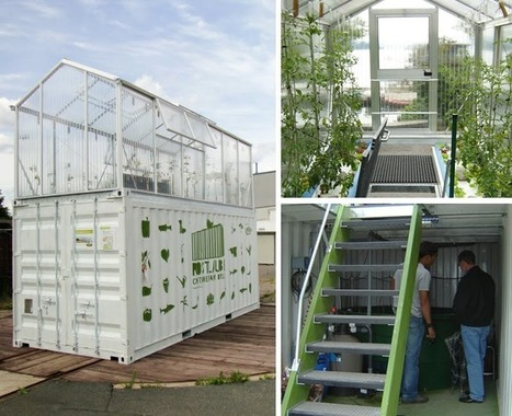 20-foot URBAN FARMS: PROJECT STORY | Vertical Farm - Food Factory | Scoop.it