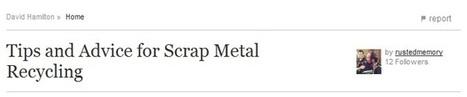 Preparing the Scrap Metal for Pick up: Actually Easier than it looks   Global Resources International Pty Ltd   Scoop.it