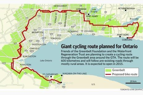Cyclists advocate new Greenbelt bike route | Active Commuting | Scoop.it