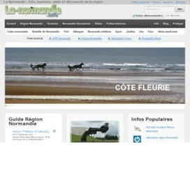 Guide web Région Normandie, La Normandie Info | Normandie | Scoop.it