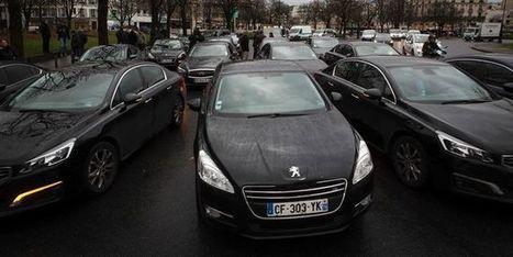 Cinquième jour de mobilisation des VTC | Econopoli | Scoop.it