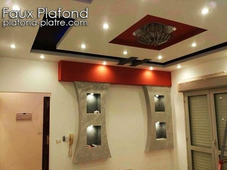Faux plafond platre 2014 d coration et d for Decoration des plafonds