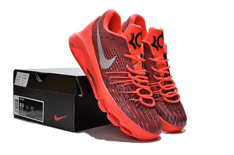 Kevin Durant 8 Red Orange Sneaker,Discount men nike kevin durant 8 red orange sneaker sale | nike sneaker store | Scoop.it