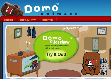 Domo Animate - Create animations | Edu 2.0 | Scoop.it