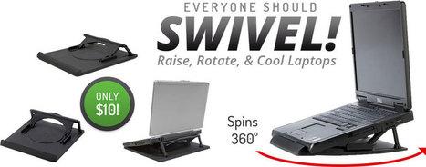 Swivel Laptop Stand   Adjustable Ergonomic Stand Up Desk   Scoop.it