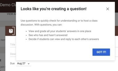 Google Classroom just got more Google awesome | Education Technology - theory & practice | Scoop.it