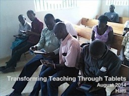 New Report: Transforming Teaching Through Tablets - Masters and PhDs | Studying Teaching and Learning | Scoop.it