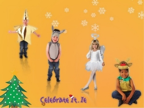 Celebrate Christmas Season Wearing Lovely Nativity Costumes | | Christmas Costume | Scoop.it