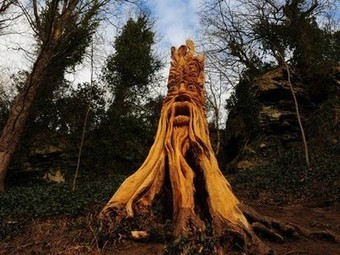 Guerrilla Tree Sculptor Takes Over UK Town | Vertical Farm - Food Factory | Scoop.it