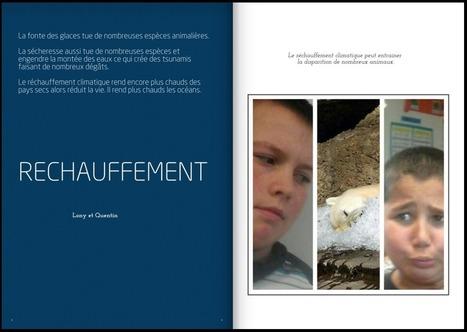 Création d'un magazine web sur les enjeux environnementaux par des CM1-CM2 | Osons Innover | Ressources pour les TICE en primaire | Scoop.it