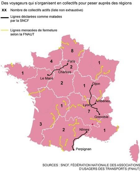 Trains régionaux - géographie d'une crise | PDE | Scoop.it