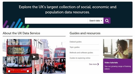 Data enriched research, data enhanced impact: The importance of UK data infrastructure | New Journalism | Scoop.it