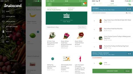 L'appli du mois : Instacart, l'Uber du shopping alimentaire | Mass marketing innovations | Scoop.it