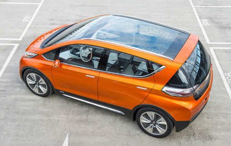 Chevy Bolt EV concept hints at the future of affordable electric cars | Electric Cars in the UK | Scoop.it