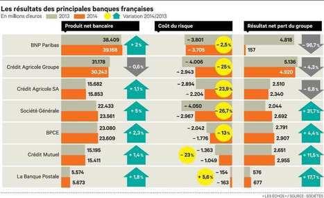 Les banques françaises ont bien résisté aux chocs de l'année 2014 | Veille marché Solucom | Scoop.it