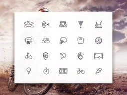 Download Freebies: Sporties Icon Set   Freebies   Scoop.it