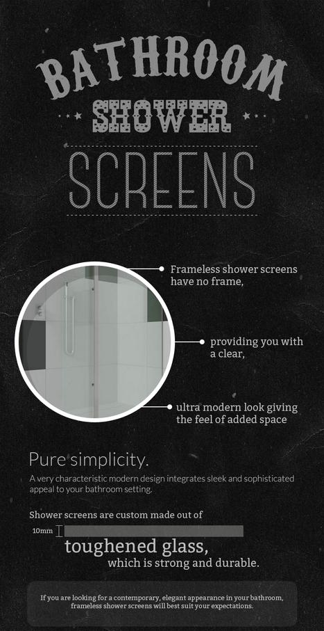 Modern & Elegant Frameless Shower Screens | Glass Fencing | Scoop.it