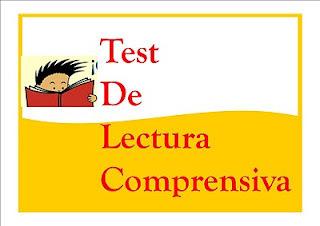 TEST COMPRENSIÓN LECTORA 3º CICLO PRIMARIA | Nuestro rincón de lectura | Scoop.it