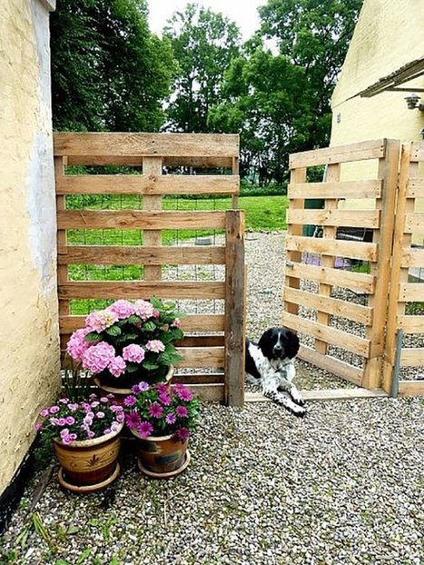 19 Cool Pallet Projects | Pallet Furniture and More | Upcycled Objects | Scoop.it