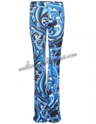Emilio Pucci Blue Printed Crepe-jersey Flared Trousers [Crepe-jersey Flared Trousers] - $178.99 : Emilio pucci dresses online outlet,discount pucci dresses on sale! | fashion things | Scoop.it