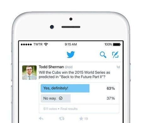 Twitter presenta oficialmente su sistema para hacer encuestas | MediosSociales | Scoop.it