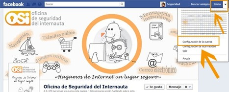 Seguridad en Facebook | Oficina de Seguridad del Internauta | Buen uso de las Redes Sociales | Scoop.it
