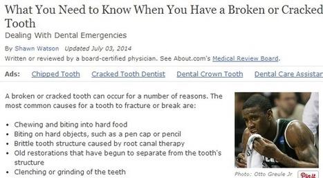Newmarket Dental Professionals Have Lasting Solutions to Broken Teeth | Dr Zofia Wojt Dentist | Scoop.it