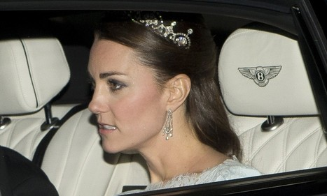 Duchess wears glittering tiara for white tie ball at Buckingham Palace | British Genealogy | Scoop.it