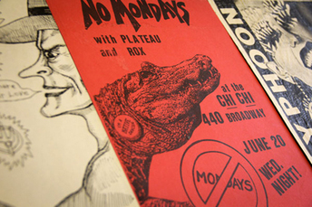 Stanford library's punk poster art collection revives '80s musical history - Stanford University News | Music | Scoop.it