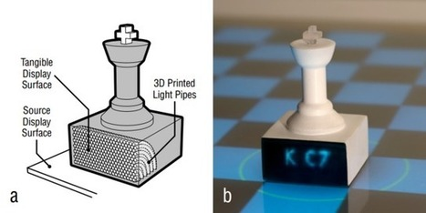 Disney researchers use 3D printing to create simple displays and sensors | 3D Printing and Fabbing | Scoop.it
