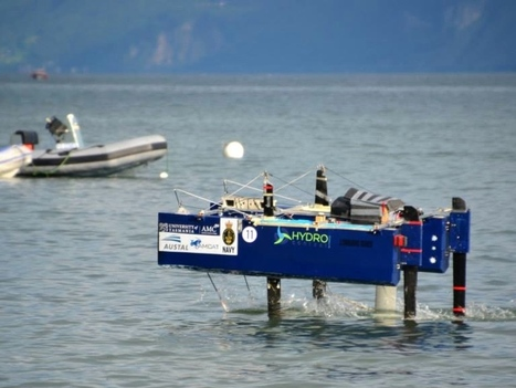 RC Foiling Boat for International Competition   Crowdfunding Nautisme   Scoop.it