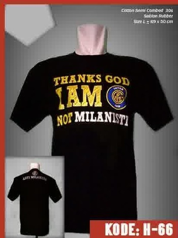 Kaos Thanks God Inter Milan | Jersey Bola Grade Ori | Baju Bola | jersey | Scoop.it