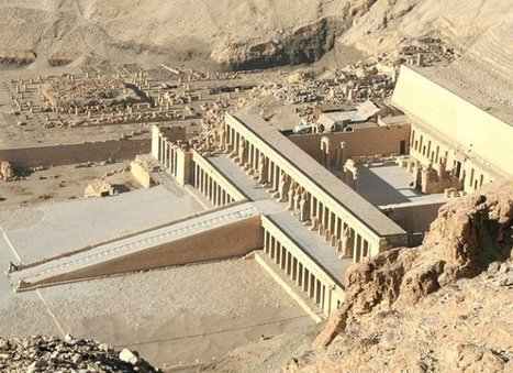 Polish Archaeologists Reconstructed Solar Cult Complex In The Temple Of Hatshepsut In Deir El-Bahari - MessageToEagle.com | promienie | Scoop.it