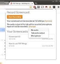 ScreenCastify, extensión de Chrome para realizar Screencast   Redes sociales educativas   Scoop.it