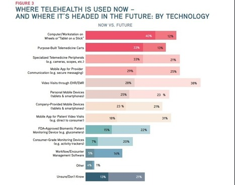 38% of Executives Want to Implement Telehealth Through EMR/EHR | 8- TELEMEDECINE & TELEHEALTH by PHARMAGEEK | Scoop.it
