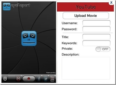 EyeReport For iPhone: Display Front And Rear Camera In One Video | iOS, WP8, Mac, Linux, | Scoop.it