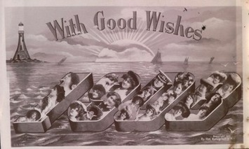 I'm Wishing You A Happy New Year Early — With Old Women In Watery Graves | Antiques & Vintage Collectibles | Scoop.it