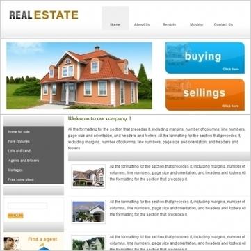 Best Real estate website templates download 2013 - Wallkens | Wallkens : Smart Designer's Wall | Scoop.it