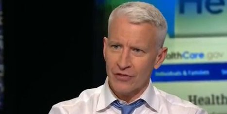 Anderson Cooper Hits White House Over Obamacare Glitches (Video) | Realms of Healthcare and Business | Scoop.it