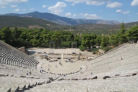 The ancient Greek theater at Epidaurus | Classical musings | Scoop.it
