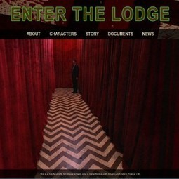 Transmedia Podcast – Enter The Lodge (Twin Peaks) – Transmedia Storyteller | #transmediascoop | Scoop.it
