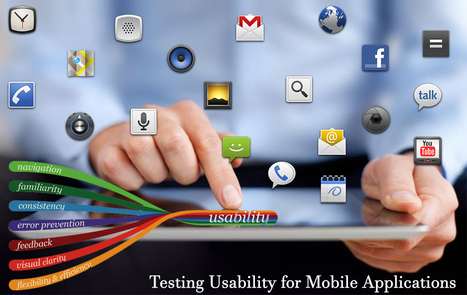 Testing Usability for Mobile Applications | Accessibility Testing Specialist | Scoop.it