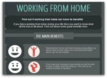Travailler chez soi : petit résumé des avantages et des inconvénients | Economie Responsable et Consommation Collaborative | Scoop.it