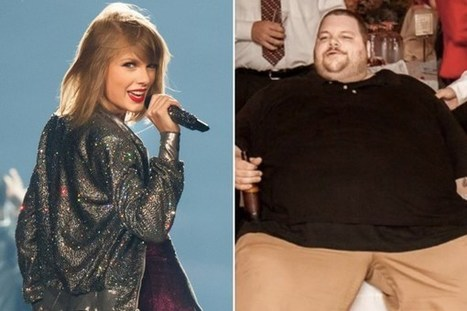 Man Credits Taylor Swift for Inspiring His 425-Pound Weight Loss | Country Music Today | Scoop.it