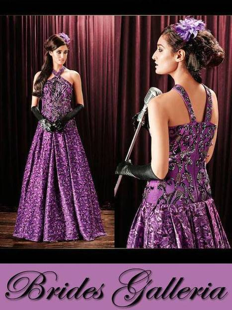 Brides Galleria Female Formal Wear 2015 | Style | Strawberry Chiffon RTW LZahra Ahmad Fall Winter Exclusive Collection 2013atest Collection 2013 For Ladies. | Scoop.it