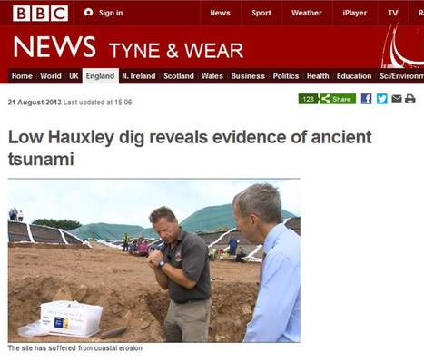 Evidence found of ancient tsunami | microburin mesolithic archaeology | Scoop.it