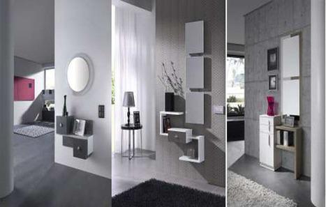 Muebles recibidores modernos y baratos mil i for Recibidores economicos
