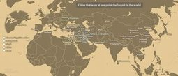 From Jericho to Tokyo: the world's largest cities through history – mapped | AP Human Geography | Scoop.it