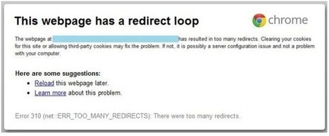"How To Solve ""{This Webpage has a Redirect Loop}"" Error 
