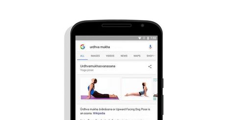 Google search cards help you learn yoga | Innovation & Sport | Scoop.it